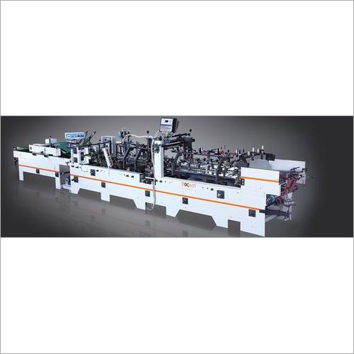 Straight Line Boxes Gluer Pasting Machine