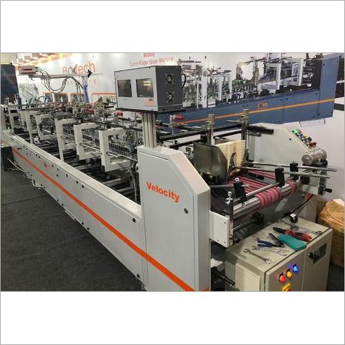 Boxtech High Speed Velocity Plus Carton Folder Gluer Machine
