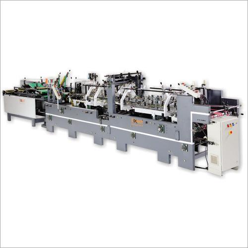 Boxtech Pre Folding Ecomatic Carton Folder Gluer Machine