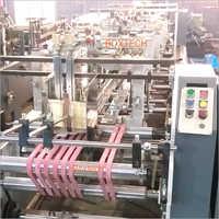 Lock Bottom Folding and Gluing Machine