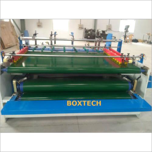 Corrugated Box Pasting Machine