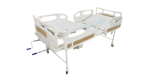 HOSPITAL FOWLER BED WITH BUTTERFLY RAILLING(SIS 2002A PLUS)
