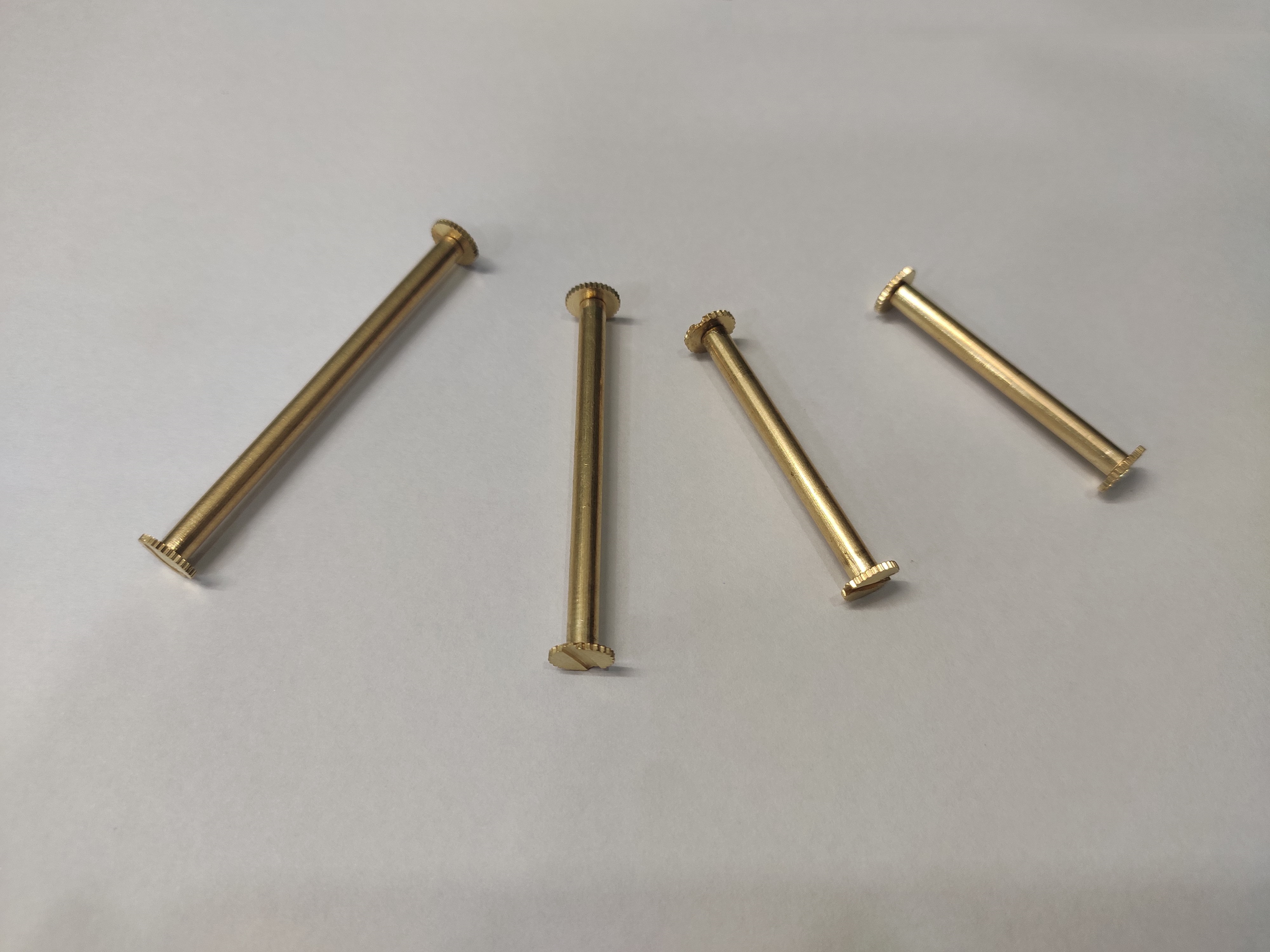 Brass File Screw