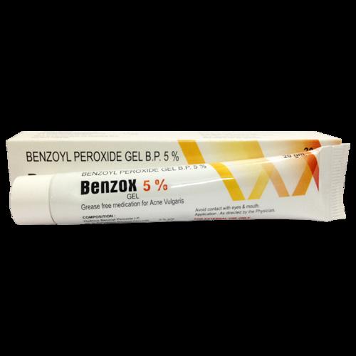 BENZOX GEL (BENZYL PEROXIDE BP 5%)