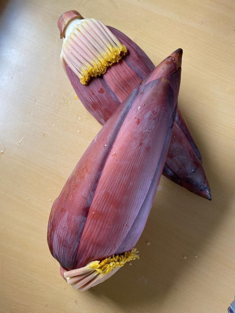 Fresh Banana Flower