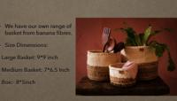 Banana Fiber Home Decor