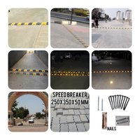 Speed Breaker - Plastic Base - 50 Mm