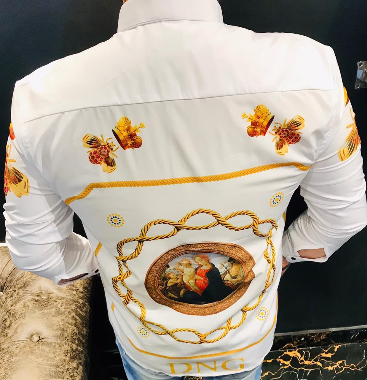 21 Inside Premium Imported Lycra Shirt For men's
