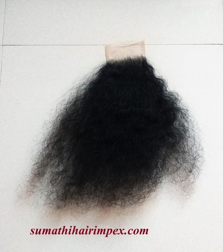Indian Natural Curly Hair Closures