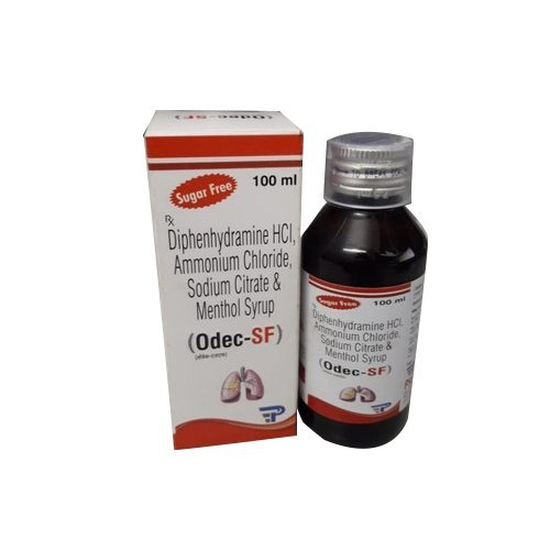 Diphenhydramine Hcl + Ammonium Chloride + Sodium Citrate Syrup