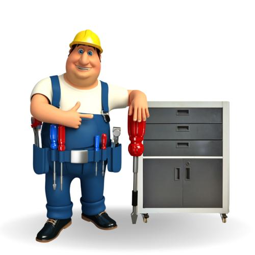 Pedestal Tool Storage