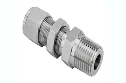 Stainless Steel Flare Bulkhead Male Connector