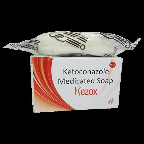 KEZOX SOAP (KETOCONAZOLE 2%W/W)