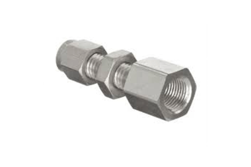 Stainless Steel Flare Bulkhead Female Connector