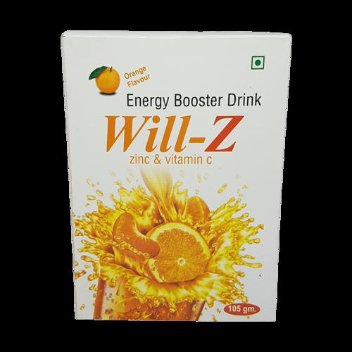 ENERGY DRINK POWDER (ZINC AND VITAMIN C)
