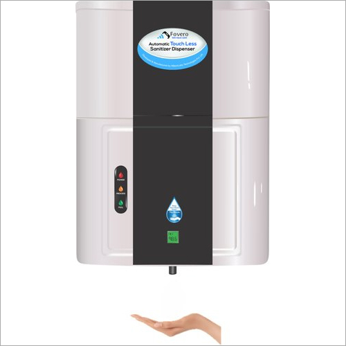 8-10 Litres Automatic Hand Sanitizer Dispenser With Contact Less Thermometer