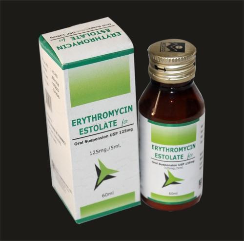 Erythromycin Estolate for Oral Suspension