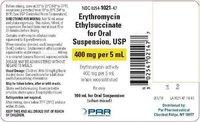 Erythromycin Ethyl Succinate For Oral Suspension