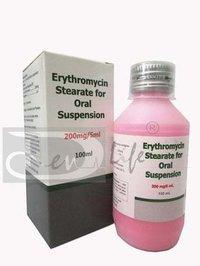 Erythromycin Stearate for Oral Suspension
