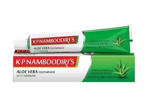 K.p. Namboodiris Aloe Vera Herbal Tooth Paste 100 G