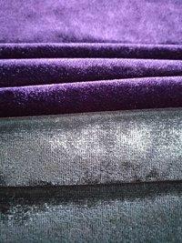 Polyester Velvet Lycra Fabric