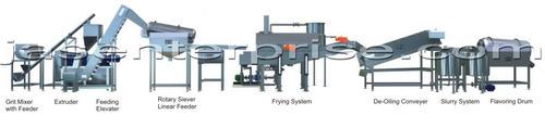 Fully Automatic Corn Curls Kurkure Production Line