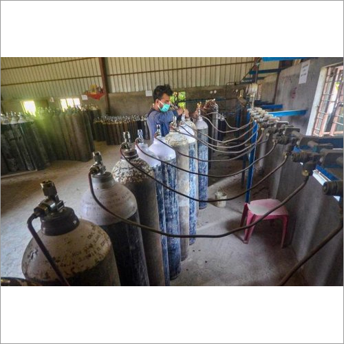 Industrial Oxygen Gas Cylinder