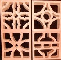 Terracotta Clay Jali
