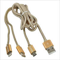 3 In 1 Data Cable