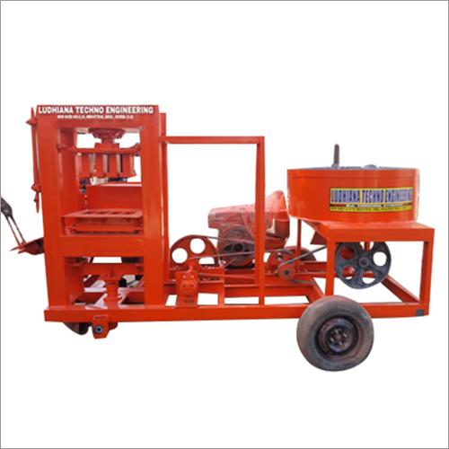 Brick Making Machine With Diesel Engine