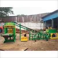 23 HP Three Phase Bricks Making Machine Front Belt Palletizer  System