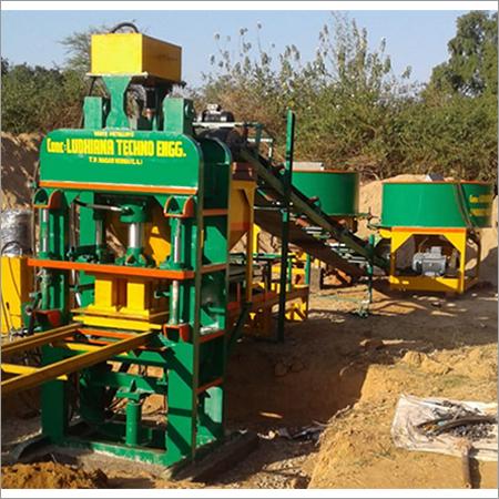 8-10 Brick Making Machine With Triple Jack  System