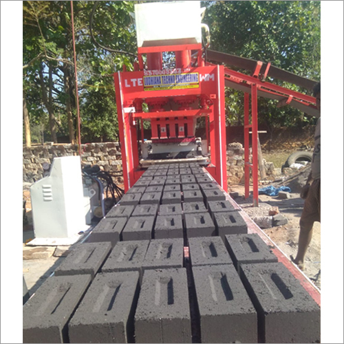 Double Jack 10 Brick Making Machine Front Belt Palletizer System