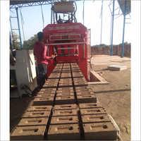 12-15 Brick Making Machine With 4 Jack Front Belt Palletizer  System