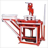 Manual Hand Press Brick Making Machine