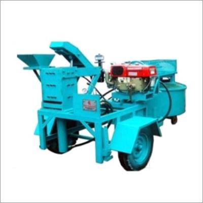 Diesel Operated Brick Making Machine