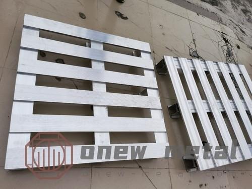 Aluminium pallet new design