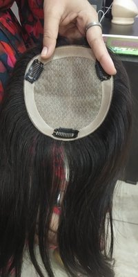 Raw Straight Hair toppers for women
