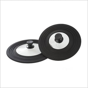 Silicone Round Glass Lid
