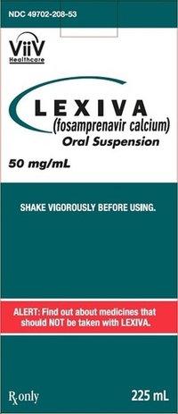 Fosamprenavir Calcium Oral Suspension