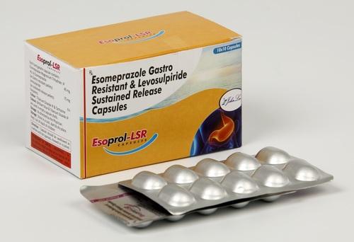 Esomeprazole Sodium 20 + Levosulpiride 75 SR