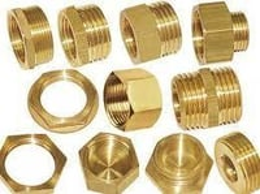 Brass Pipe Coupling