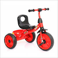 Red Tricycle With Basket