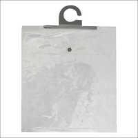 PVC Hanger Bag with Black Button