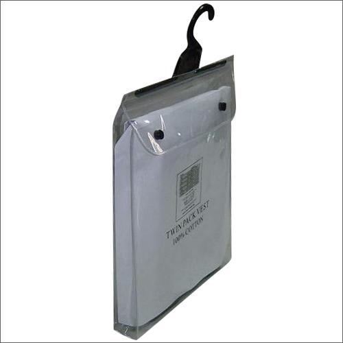 PVC Hanger Transparent Bag