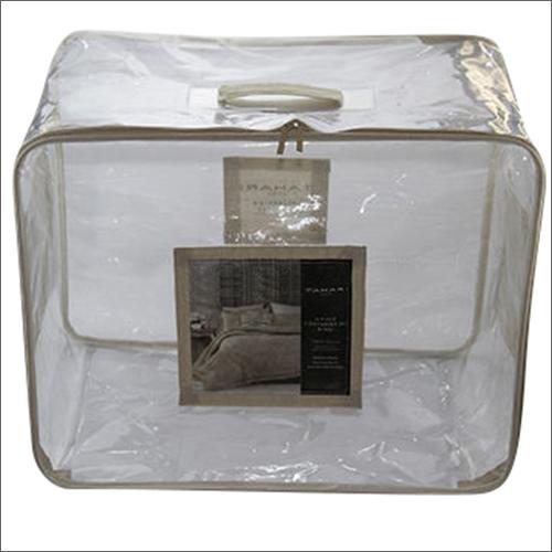 PVC Comforter Zipper Bag