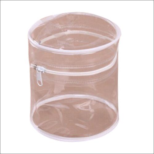 PVC Round Zipper Bag
