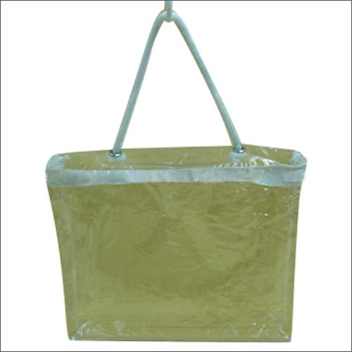 PVC Zipper Tote Bag