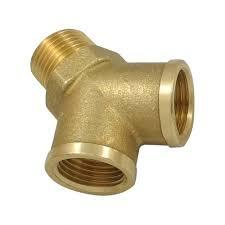 Brass Pipe Male Y Joint Nipple