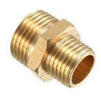 Brass Pipe Reducing Hex Nipple
